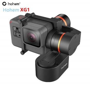 Casque De Vélo Bluetooth   Hohem XG1 Cardan 3 Axes Pour GoPro Hero 7/6/5/4/3 Portable Stabilisateur Vélo/casque/voiture Cardan De Montage Pour Caméra D'action