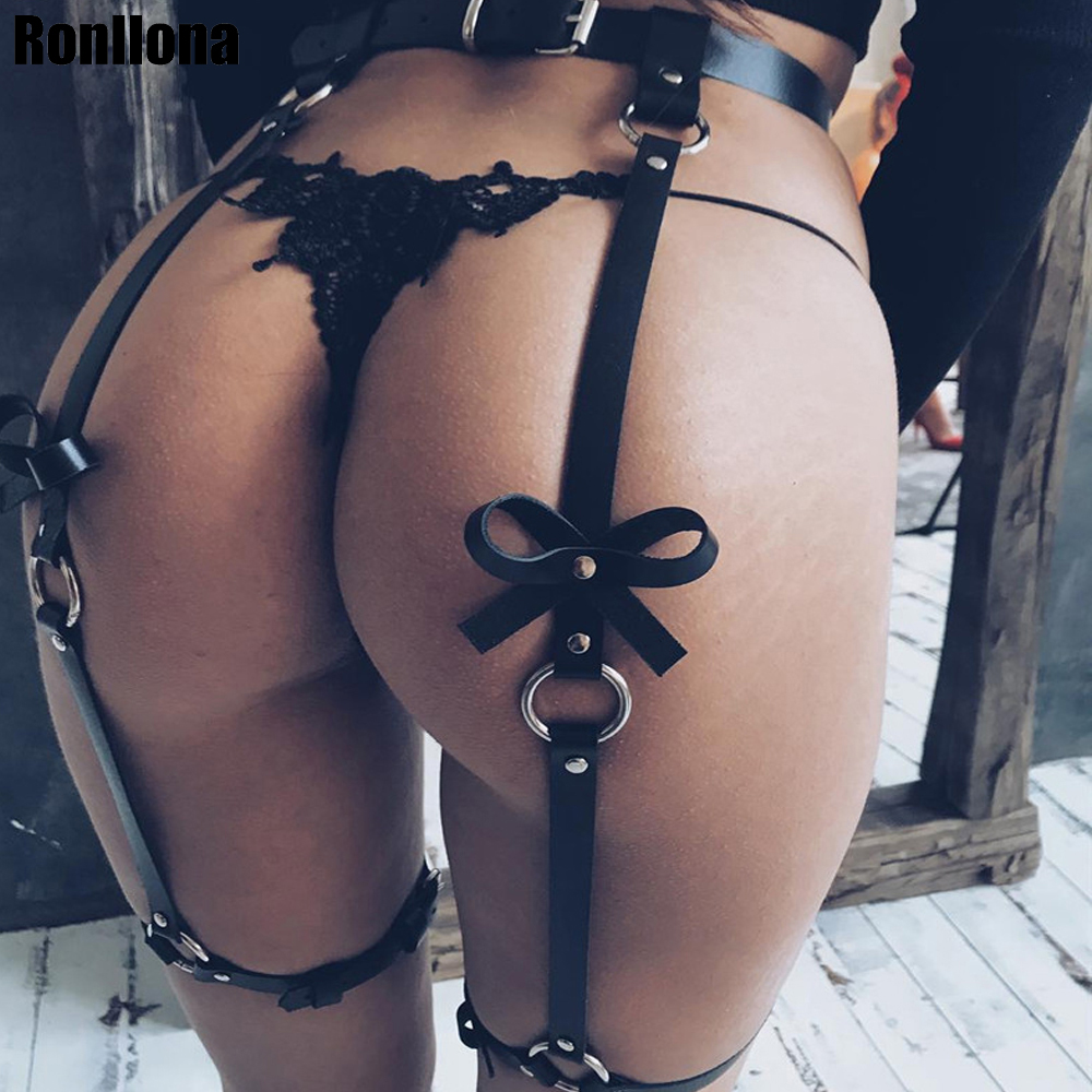 Leather Leg Garter Body Strap Harness Belt Bridal Garters Belts For Women's Lingerie Sex Body Sexy Costumes Suspender Erotic