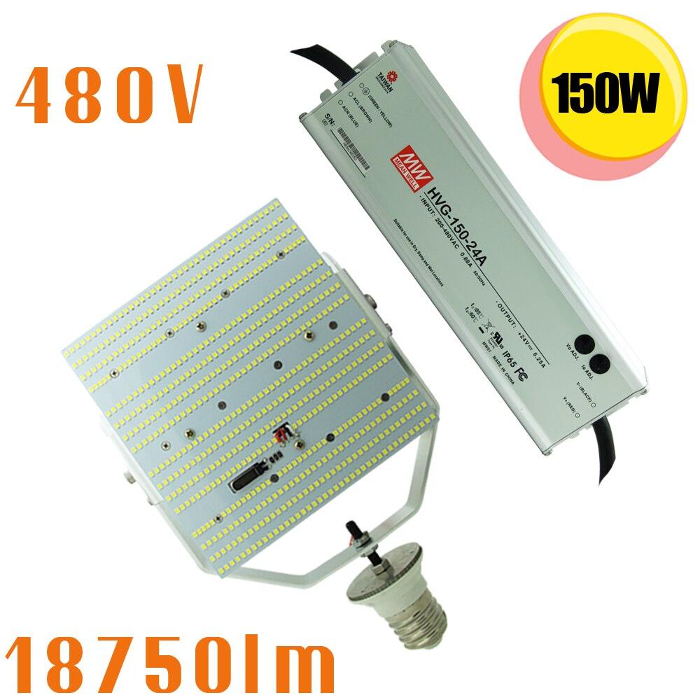 1000 Watt Metal Halide Led Replacement 480v 347v input 150w led retrofit kit 1000 watt metal halide