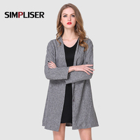 Women Thin Trench Coats 2019 Fall Ladies Casual Blazer Coats Big Sizes XL 5XL Female Long Loose Outfit Grey Mujer V neck