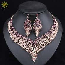 Leaf African Bridal Jewelry Sets for Wom