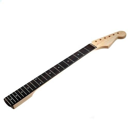 Manche de guitare érable 22 frettes palissandre Fretboard pièces de guitare électrique pièce de rechange