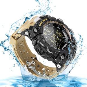 Image 3 - TimeOwner ساعة ذكية الرجال الإخطار عن التحكم مقياس الخطو الرياضة ووتش للماء الرجال ساعة اليد ساعة توقيت مكالمة SMS تذكير