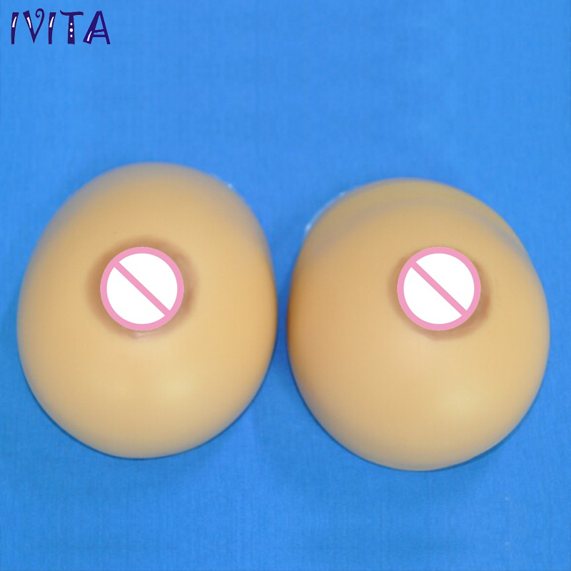 1000g/pair Beige Water Drop Realistic Silicone Artificial Breasts Fake Boobs Fake Breast Forms For Women's Falt Chest Mastectomy 1pair 1000g d cup beige drop fake silicone breast form insert artificial soft touch boobs forms tits enhancer bra pad for woman