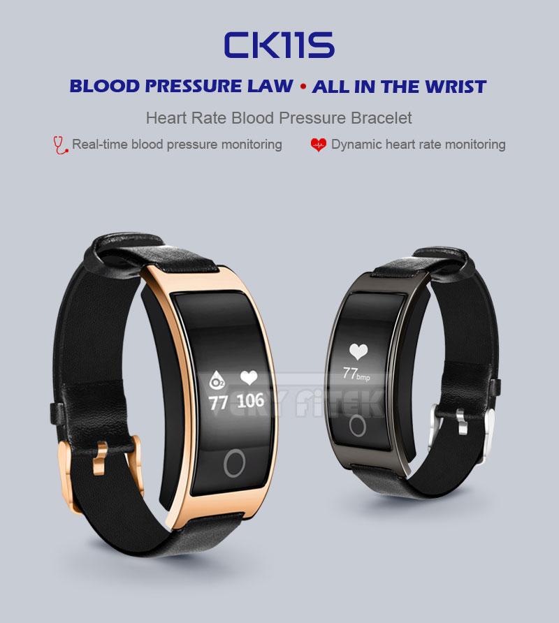 VERYFiTEK CK11S Fitness Bracelet Blood Pressure Smart Wristband heart rate monitor pulsometer Bracelets for xiomi pk fit bit-01 (4)