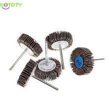 5Pcs Sandpaper Flap Polishing Disc Set Wheel For Rotary Tools Shutter Power