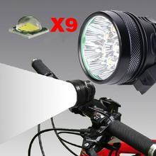 12000 Lumen 9T6 Super Bright Bike LightCREE XML-T6 Bicycle Light Super Bright Bike LED Headlight