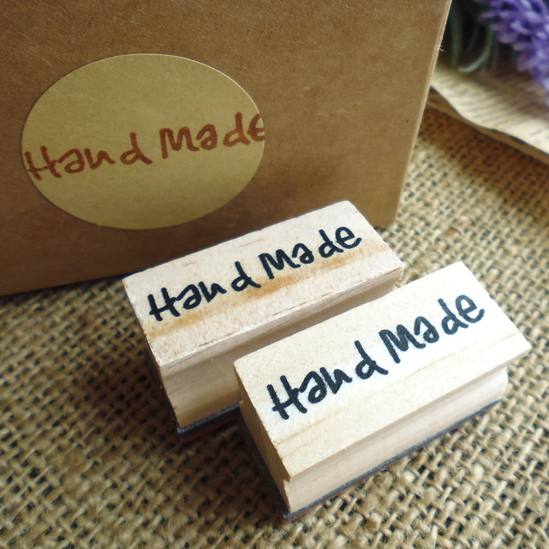 Free Shipping Natural Handmade Soap Wood Stamp Mold Chapter Mini DIY Wooden Hand Made Pattern Stamps