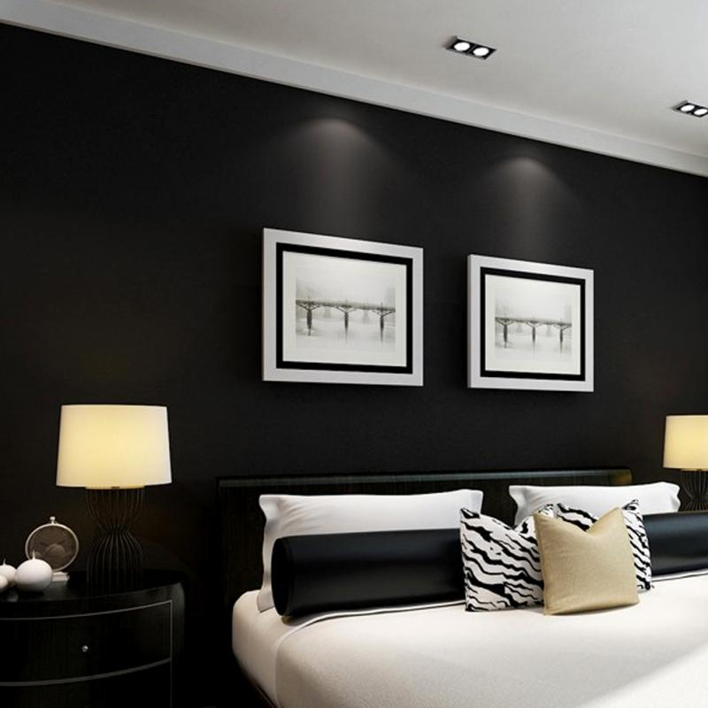 Black Feature Wall black feature wallpaper reviews - online shopping black  feature