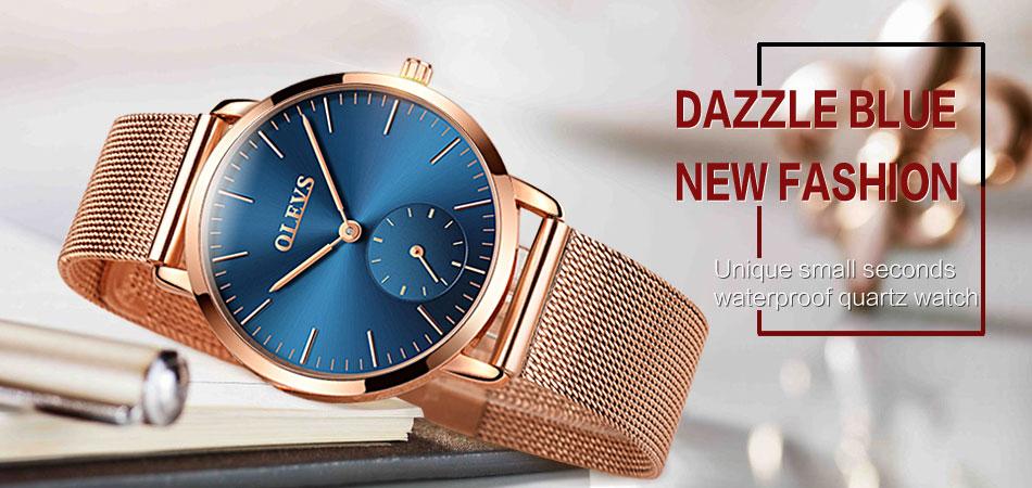 HTB1vvTocWagSKJjy0Faq6z0dpXaG 60% OFF OLEVS Men Ultra thin Watches - Top Brand Luxury Quartz Watch Men's [ New ]