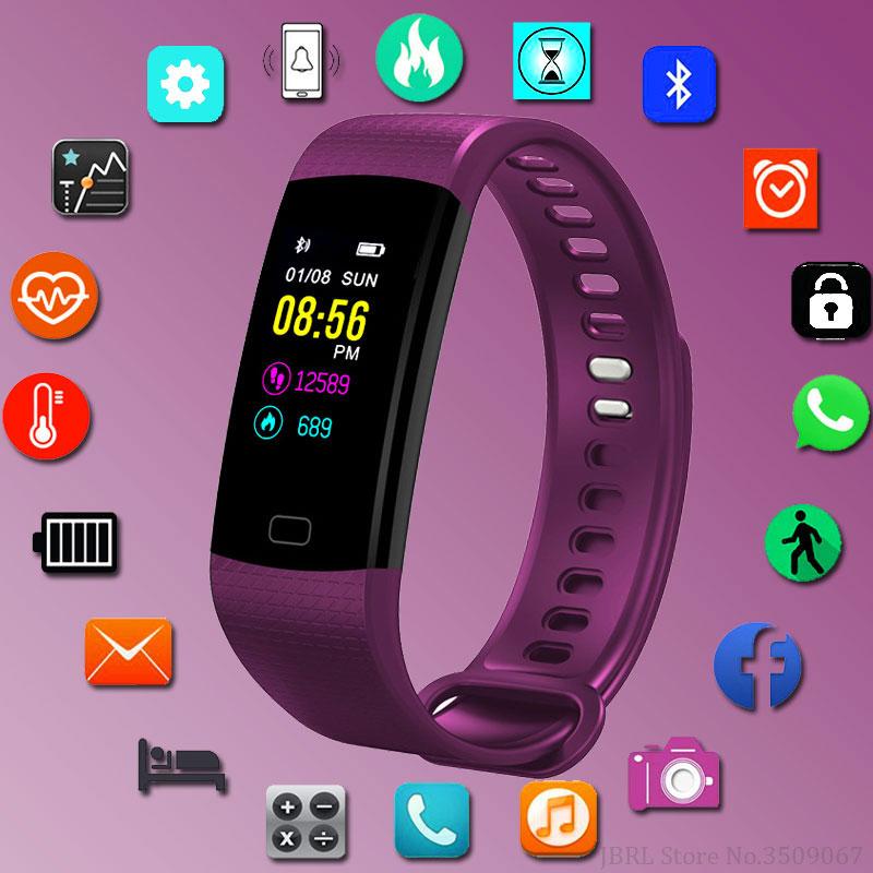 JBRL Sport en cours d'exécution femmes intelligentes montres numérique LED Bracelet électronique dames montre-Bracelet pour femmes horloge femme montre-Bracelet