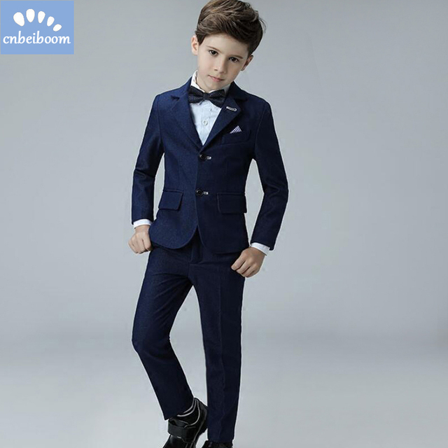 Kids/Children Blue Formal Boys Wedding/Tuxedo / Blazer Suits Boy ...