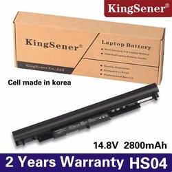 KingSener New HS04 Laptop Battery For HP Pavilion 14-ac0XX 15-ac121dx 255 245 250 G4 240 HSTNN-LB6U HSTNN-PB6T/PB6S  HSTNN-LB6V