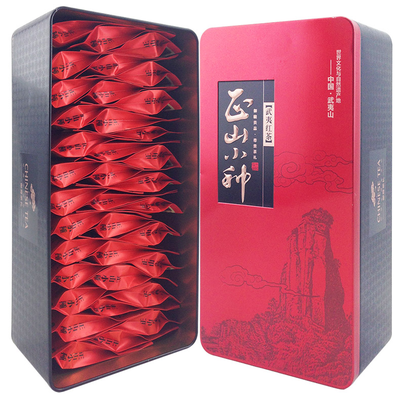 China Tea 2016yr Paulownia Red Tea 200g Wuyi Mountain Lapsang Souchong Small Bag Black Tea Zhengshanxiaozhong