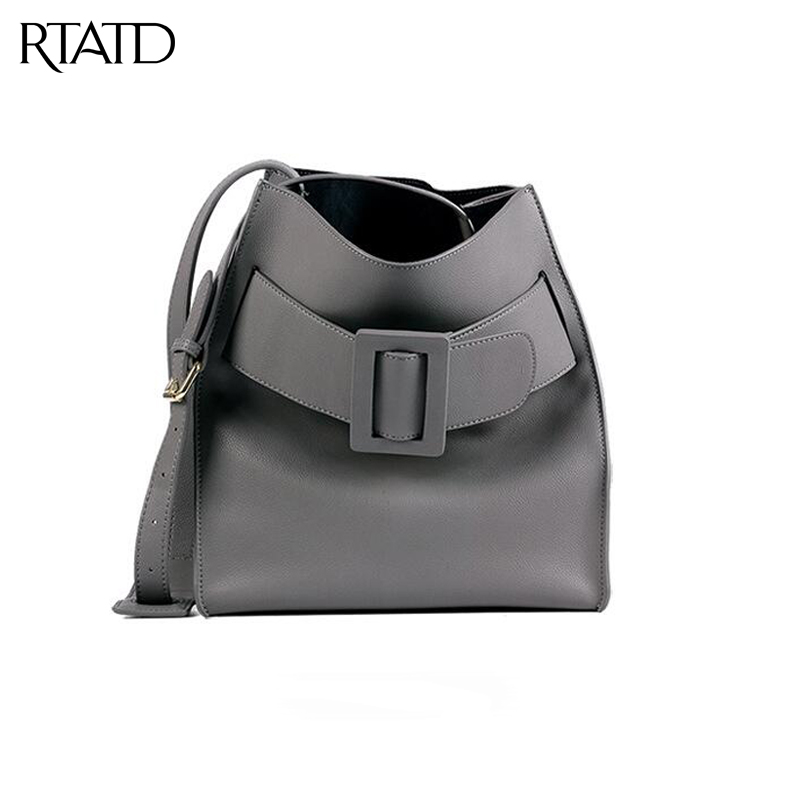 RTATD Genuine Leather Women Messenger Bag High Quality Cow Leather Small Crossbody Bag Women Fashion Shoulder Bag B099 new brand genuine leather women bag fashion retro stitching serpentine quality women shoulder messenger cowhide tassel small bag