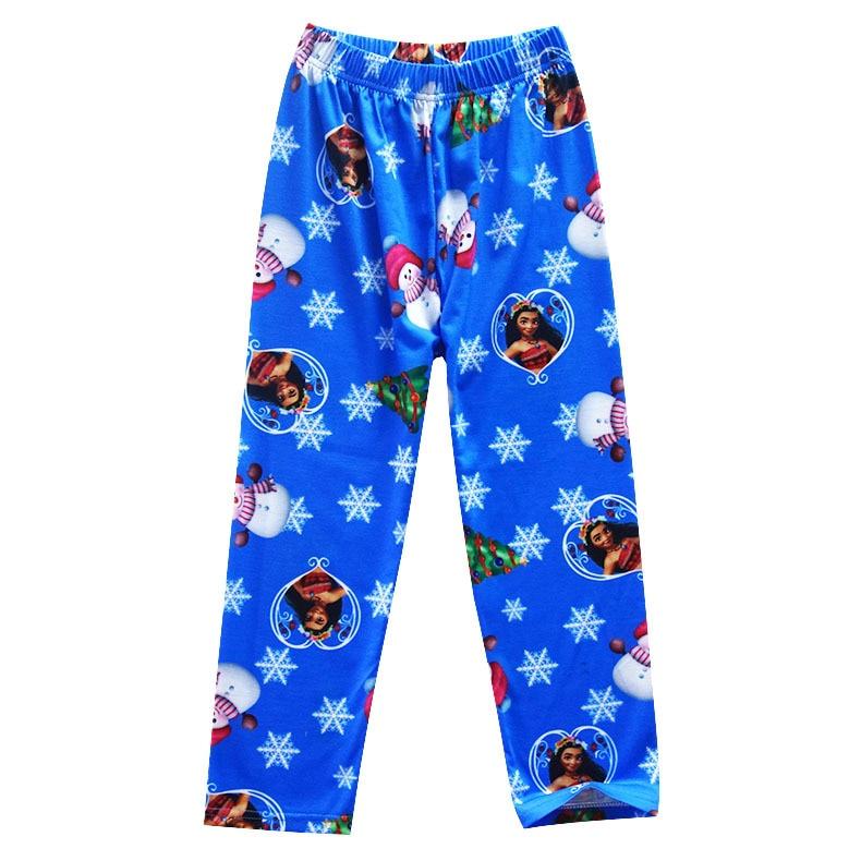 ec68a18719e23 2017 Garçons vêtements de Nuit Moana Vaiana Costume Filles Pyjamas De Noël  Pyjama Enfants Fille Pyjamas À Manches Longues T shirt + Impression  vêtements ...