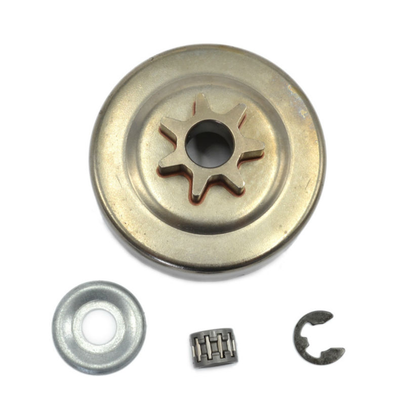 Chainsaw Clutch Drum P-7 Chain Sprocket 3/8 Picco 7T with Needle Bearing Washer for Stihl MS210 MS230 250 OEM 1123 640 2072