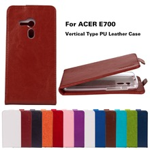Luxury Vertical Magnetic For acer e700 Leather Cases For Acer Liquid E700 5.0 inch Cover Mobile Phone Bags With TPU Cases Holder