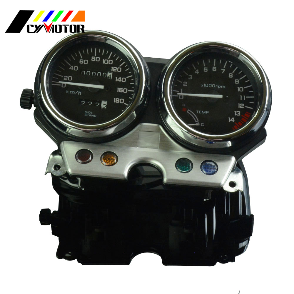 Motorcycle Gauges Cluster Speedometer Odometer Tachometer For HONDA CB400 CB 400 1992 1993 1994 92 93