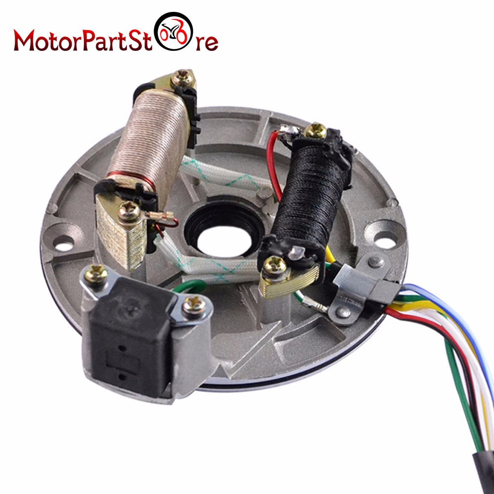 Ssr Magneto Wiring Explained Diagrams Obd Ii Diagram Ignition Stator Plate For 125cc Pit Bike Xr50 Crf50 Sdg Oven