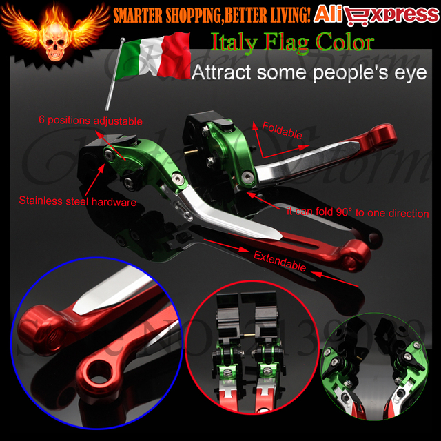 Italy Style Motorcycle Cnc Adjustable Brake Clutch Levers For