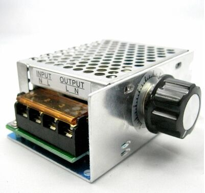 4000W imported high-power silicon controlled electronic regulator with light speed regulating housing insurance