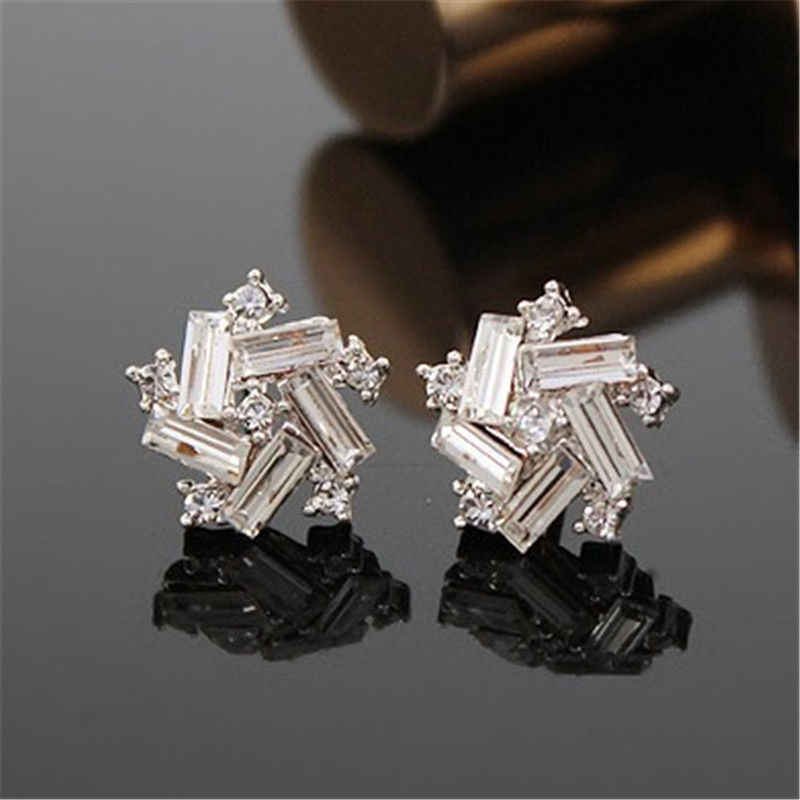 2018 Oorbellen Brincos Time-limited New Geometric Earings Brinco Korean Women Windmill Earrings Fashion Ear Stud Jewelry Gift
