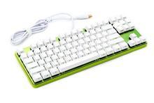 GK87 Grüne Platte Mechanische Gaming-tastatur Innen Ingraved OEM Tastenkappen Shotcut Schlüssel Cherry mx-schalter