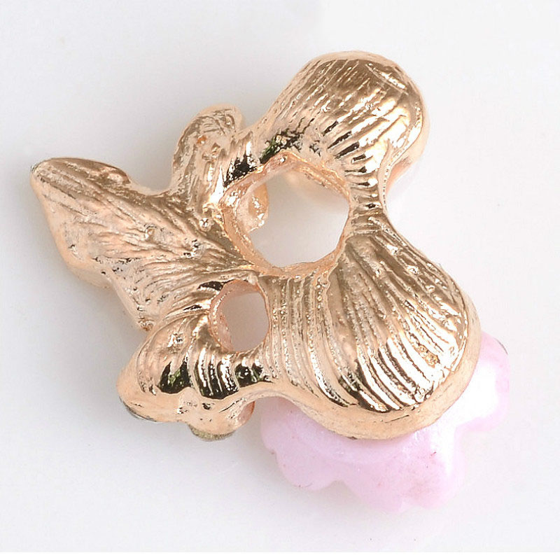 20 Fashion Butterfly Rhinestone Flatback Buttons DIY Embellishments Clothes Bag Buckle Scrapbooks Gils Hair Accessories KY2098