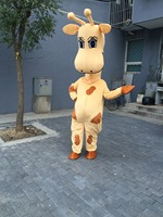 FREE SHIPPING Mascot Costume Cartoon Character Costume Mascot Cosplay Custom Products Customized Giraffe Real Picture