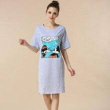 Mamans micky motif de maternité vêtements de maternité robes vêtements de grossesse pour Les Femmes Enceintes de soins infirmiers dress Allaitement Robes