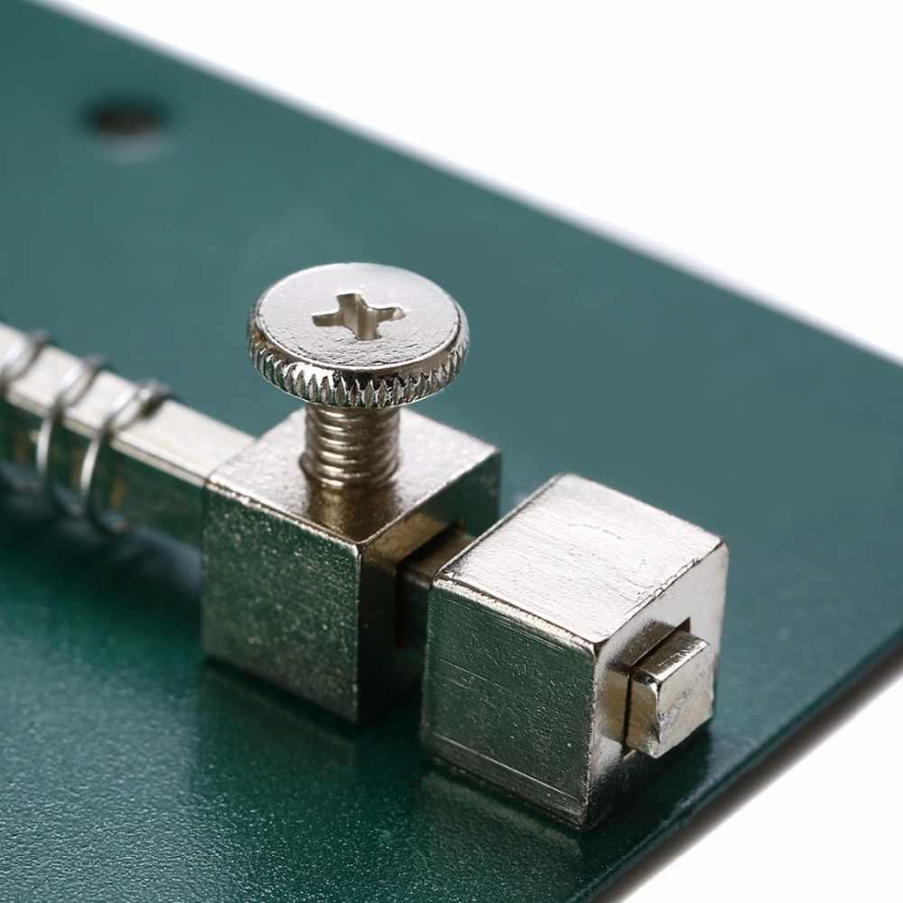 1 pc Metal Ajustável Titular PCB 12 cm x 8 cm Para O Telefone Móvel Reparação Ferramenta Retrabalho