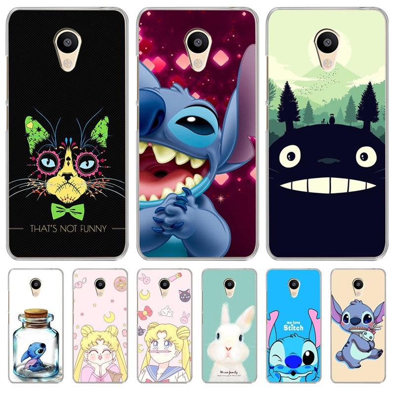 Phone Bags & Cases Half-wrapped Case Sensible Luxury For Meizu M3s M5 M5s M5c M6 M3 M5 M6 Note U10 U20 Phone Case Cover Silicone Coque Etui Sailor Moon Stitch Totoro Cartoon