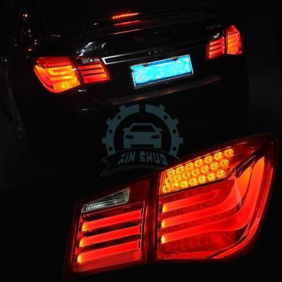 For Chevrolet Cruze 2011-2015 Tail Lights LED Brake Lightbar Assembly внешние аксессуары jc sportline 2011 abs primmer led chevrolet cruze 11 14