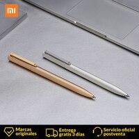 Xiaomi Mijia чернильное перо письменная ручка металлическая 0,5 мм швейцарская заправка 143 мм коврик для ролов шариковое чернильное перо Шарикова...