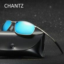 Retro Driving Sunglasses Men 2019 Mens Metal Polarized Sun Glasses Male Eyeglasses Night Vision Lunettes Soleil Homme