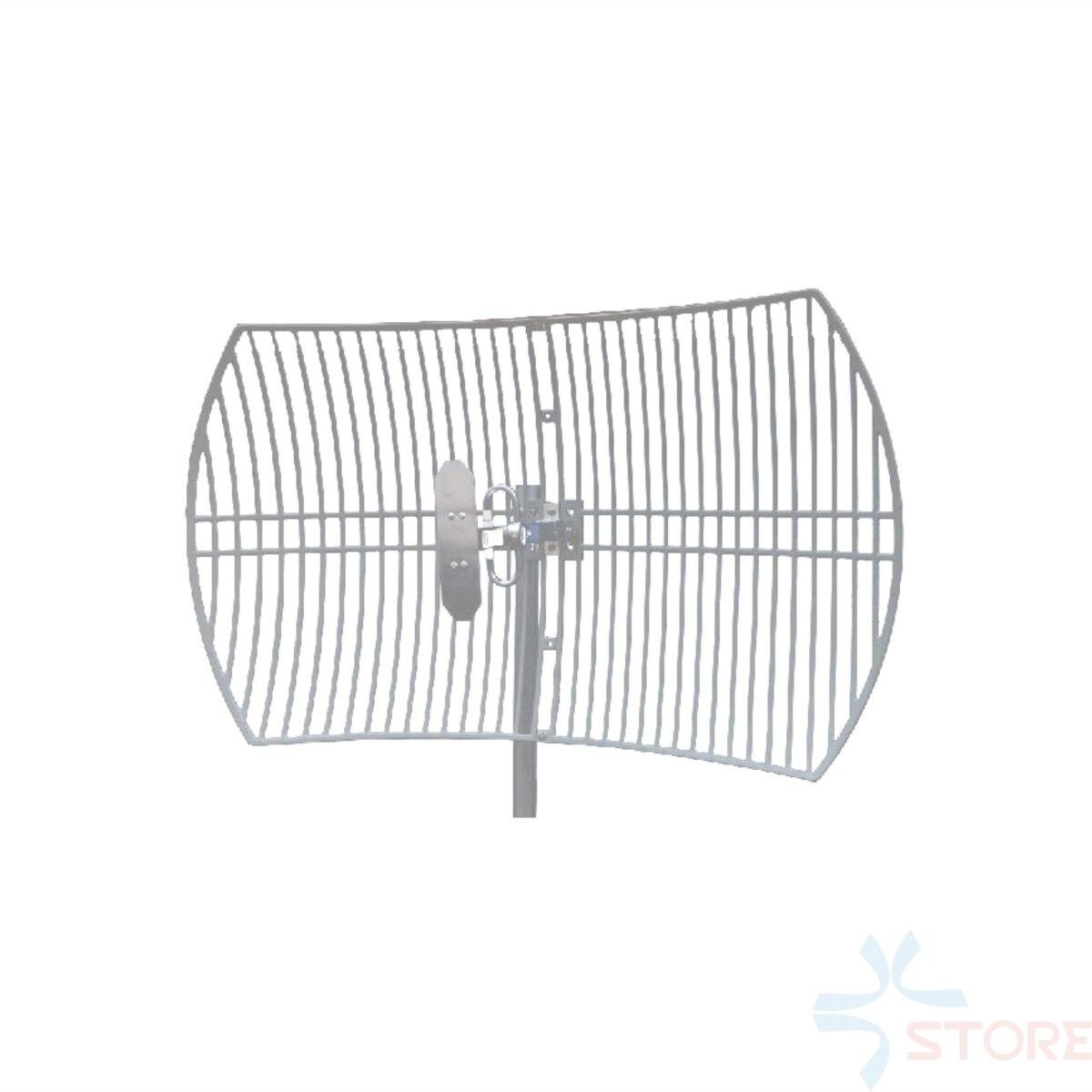 Antenne parabolique directionnelle de grille de GSM de Gain élevé de 900 MHz 15dBi pour le Modem de données Radio de Transmission de données de CUAV d'uhf