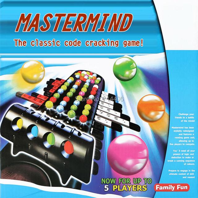 Puzzle Family Game MASTERMIND Classic Code Cracking Gamechildren's Amazing Wooden Mastermind Game