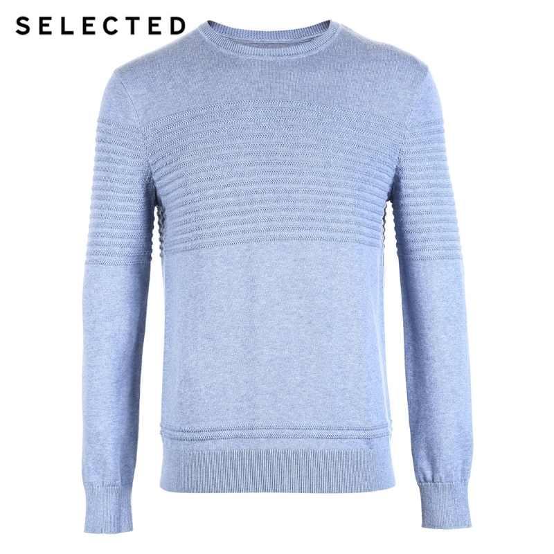 Выбранный мужской зимний кашемировый свитер с круглым вырезом, вязаный Повседневный свитер S | 418425531