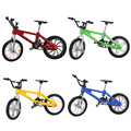 Alloy Finger Bike+Wrench+Lock+2 Wheels Detachable Kids Toys Cool Finger Bicycle Set Toy For Bicycle Fans Collection