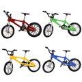 Dedo de la aleación + Llave + Lock + 2 Ruedas Desmontables Juguetes Cool Kids Conjunto De Juguete Del Dedo de La Bicicleta Para La Bicicleta Fans Collection