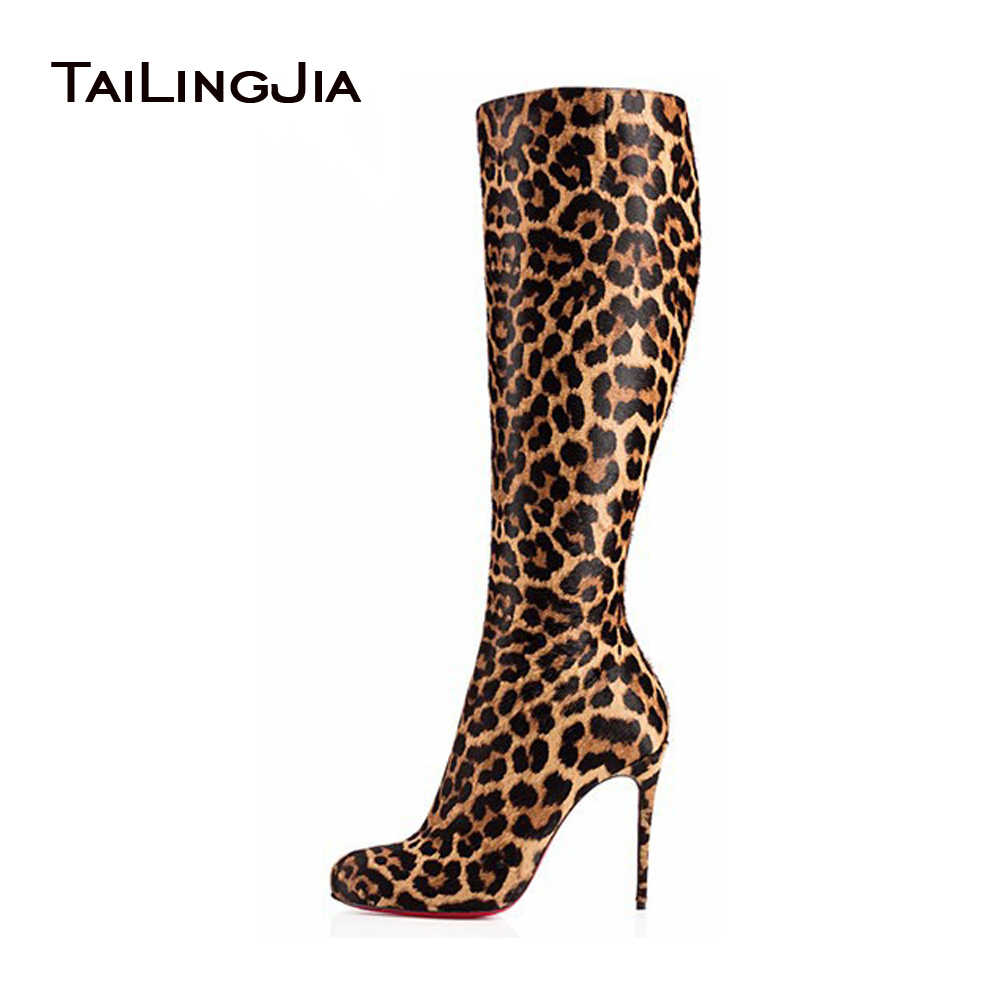 120d2d85a27 Detail Feedback Questions about Real Photo Black Knee High Stilettos ...