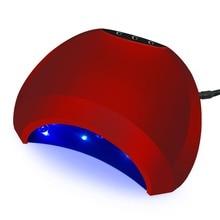 48 Вт профессиональных гелевых ногтей, УФ-светодиодный светильник ногти сушилка леча для UV гель ногти лак для ногтей Книги по искусству Инструмент солнце светодиодный свет