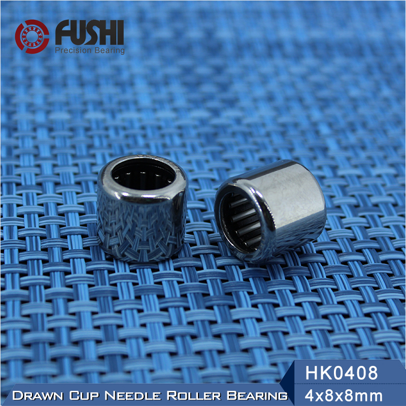 Needle Bearings HK0408 HK0509 HK0607 HK0608 HK0609 HK0709 ( 10 Pcs ) Drawn Cup Needle Roller Bearing free shipping drawn cup needle roller bearing hk1718 hk0709 hk2220 hk0812 ta1729 hk0612 hk1008 hk1812 hk1010 hk1212