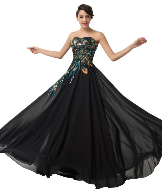 Popular Peacock Plus Size Prom Dress-Buy Cheap Peacock Plus Size ...