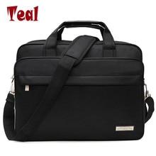 Hot prodávat pánské tašky pánské aktovky kabelky Oxford tkanina Vysoká kapacita neformální tašky vintage laptop podnikání samec taška luxusní Designer