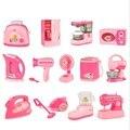 Fingir Jogar Brinquedos de Cozinha para meninas de Alta qualidade crianças toy educação Simulação Brinquedos 12 estilos de Papel