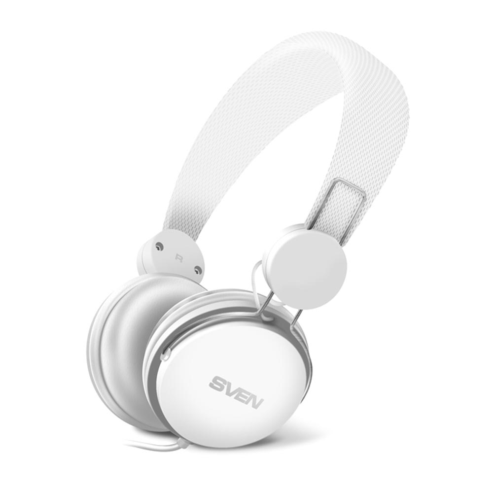 Consumer Electronics Portable Audio & Video Earphones & Headphones SVEN SV-015381 sven ap 321m white sv 015381
