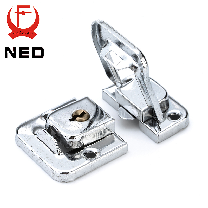 Ned J402 Cabinet Box Square Lock With Key Spring Latch