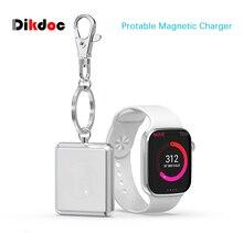 Dikdoc брелок Беспроводное зарядное устройство для Apple Watch магнитное быстрое портативное зарядное устройство для i Watch Series 1 2 3 4 легкий легко носить с собой